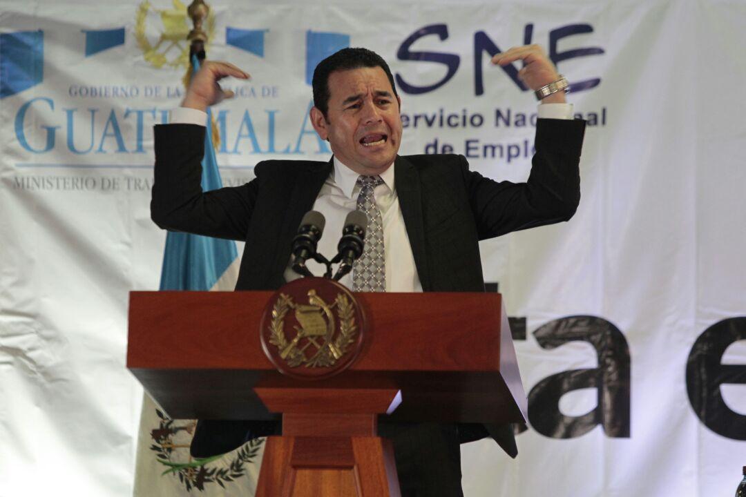 Las dos frases polémicas de Jimmy Morales y Jafeth Cabrera sobre la corrupción