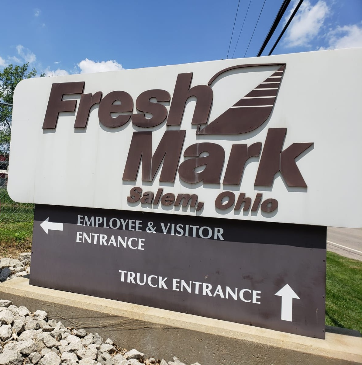 La empacadora de carne Fresh Mark se encuentra en Salem, Ohio. Allí trabajaban más de un centenar de migrantes guatemaltecos. (Foto Prensa Libre: Walter Batres)
