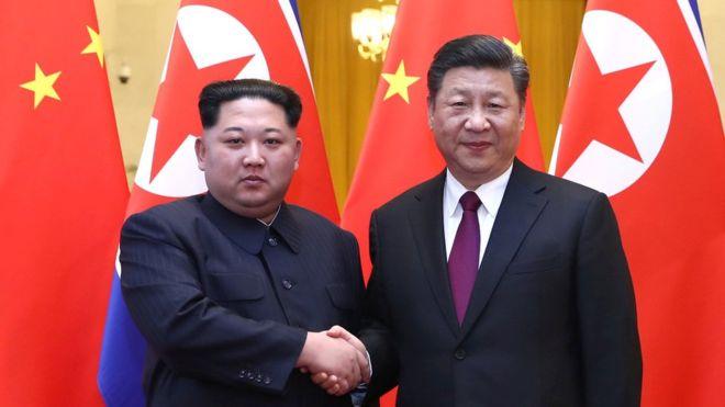 Kim Jong-un y Xi Jinping en Pekín, ¿amigos otra vez? REUTERS