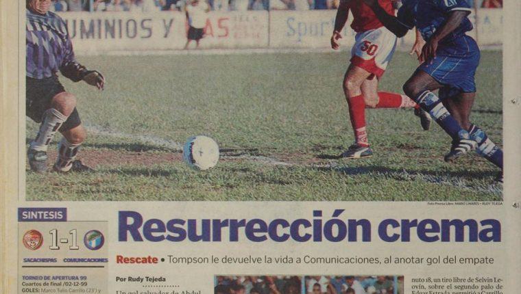 De las acciones del guardameta Jorge Humberto Marotta. (Hemeroteca PL)