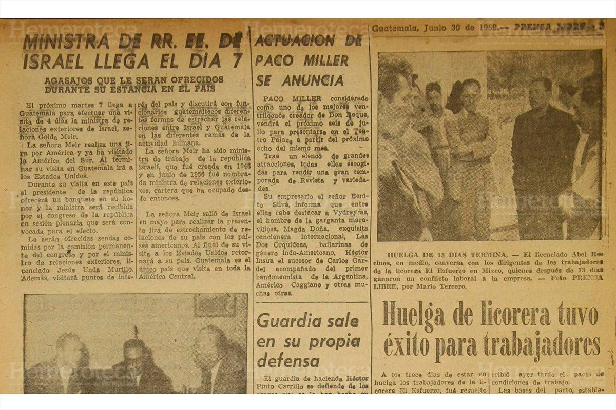 Guatemala e Israel son amigos desde 1948
