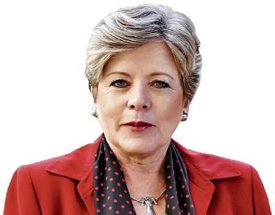 Alicia Bárcena Secretaria ejecutiva de la Cepal