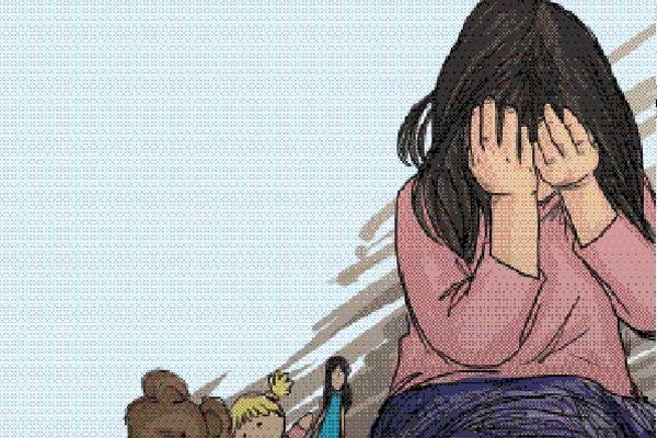 Los abusos sexuales persisten y las víctimas más recurrentes son niños y adolescentes (Ilustración Prensa Libre: Kevin Ramírez)