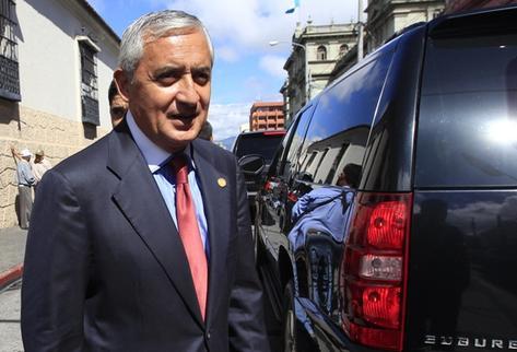Presidente Otto Pérez Molina. (Foto Prensa Libre: Archivo)