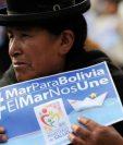 """Las protestas reclamando """"Mar para Bolivia"""" y una salida al Pacífico son frecuentes en el país andino. AFP"""