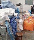 Decenas paquetes se acumulan en el servicio postal, mientras siguen cerradas las oficinas. (Foto Prensa Libre: cortesía DGCT)