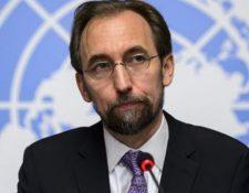 El Alto Comisionado de la ONU para los Derechos Humanos, Zeid Ra´ad Al Hussein, dijo que luego de la sentencia, es necesario dar con el paradero de Marco Antonio Molina Theissen. (Foto HemerotecaPL: EFE)