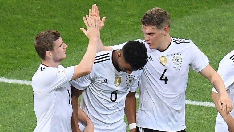 Alemania quiere conseguir el título en suelo ruso. (Foto Prensa Libre: AFP)