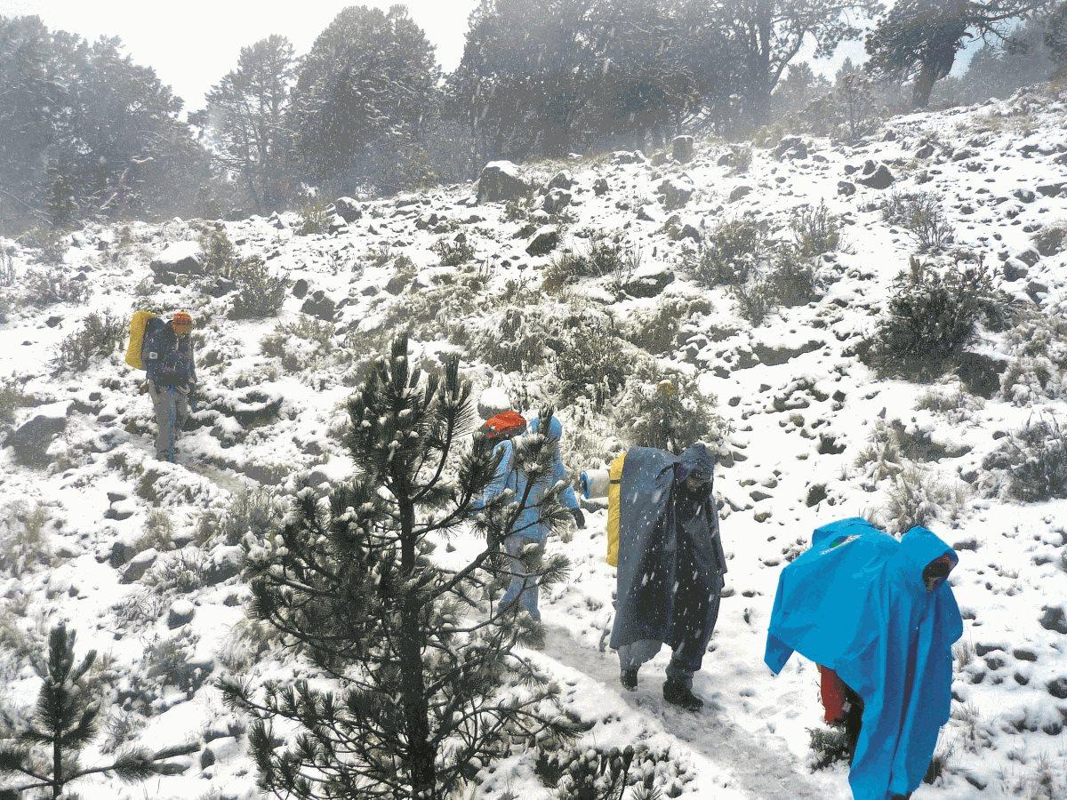 ¿Realmente cayó nieve en Guatemala?