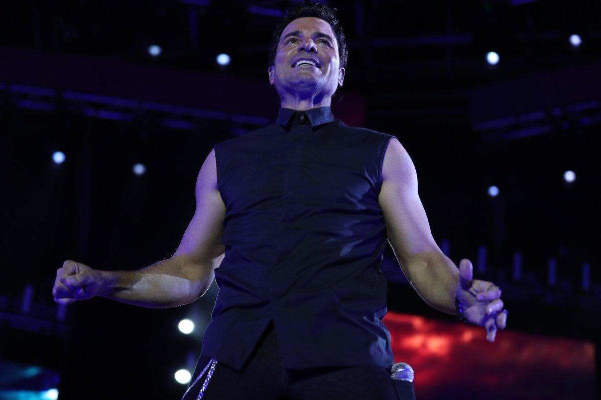 El público guatemalteco disfrutó del show que dio Chayanne en la capital.