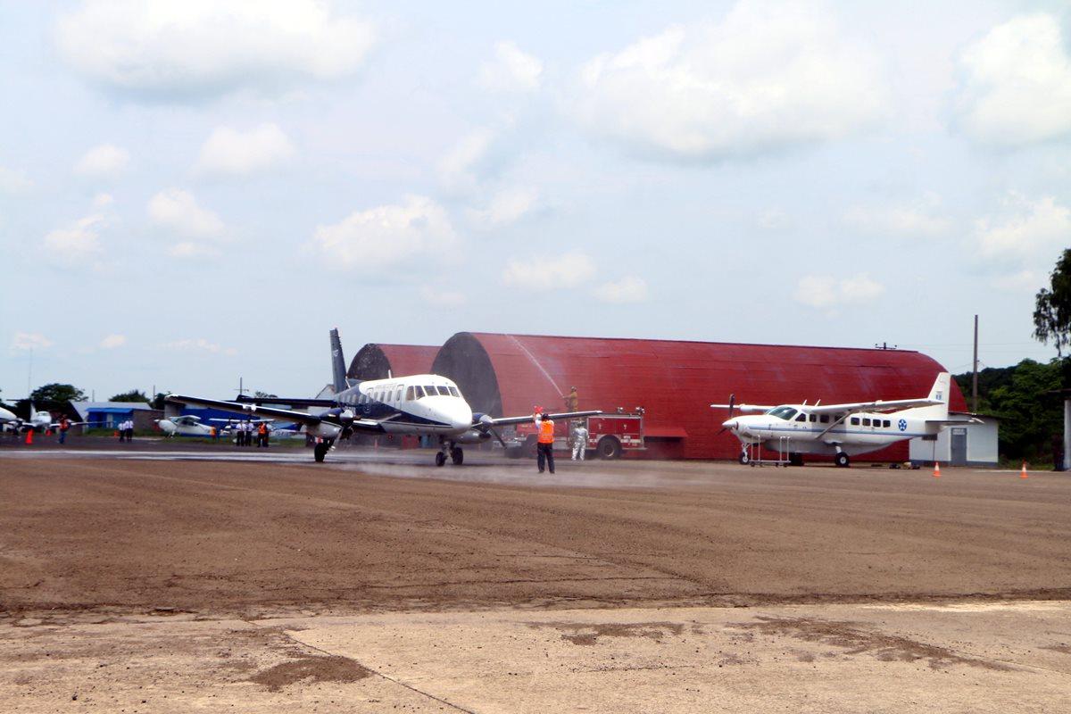 Empiezan los viajes aéreos a Retalhuleu, ahora lanzarán paquetes turísticos