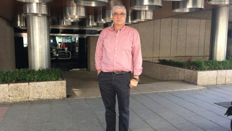 Carlos Vielman enfrentaba juicio en España, donde era acusado de ejecuciones extrajudiciales contra reclusos en Guatemala. (Foto Prensa Libre: Ximena Villagrán)