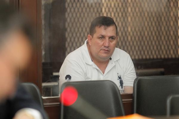 Byron Vargas Sosa, durante el desarrollo del juicio en su contra. (Foto Prensa Libre: Archivo)