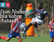 """El delantero hondureño Milton """"Tyson"""" Núñez visita Prensa Libre para hablar de su actualidad en el equipo sancarlista y de su futuro. (Foto Prensa Libre: Hemeroteca PL)"""