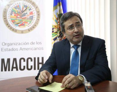 """Juan Jiménez denunció en su carta de renuncia que """"el Estado de Honduras no ha querido aprobar leyes importantes propuestas por la MACCIH"""". (Foto Prensa Libre: El Heraldo)"""