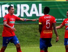 Blas Pérez habló del resultado de Municipal contra Guastatoya camino a las semis. (Foto Prensa Libre: Edwin Fajardo).