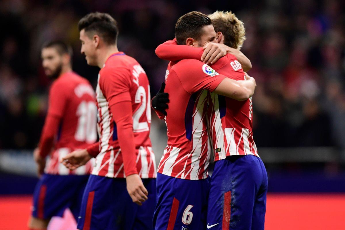 Griezmann mantiene al Atlético en la lucha por el liderato de La Liga