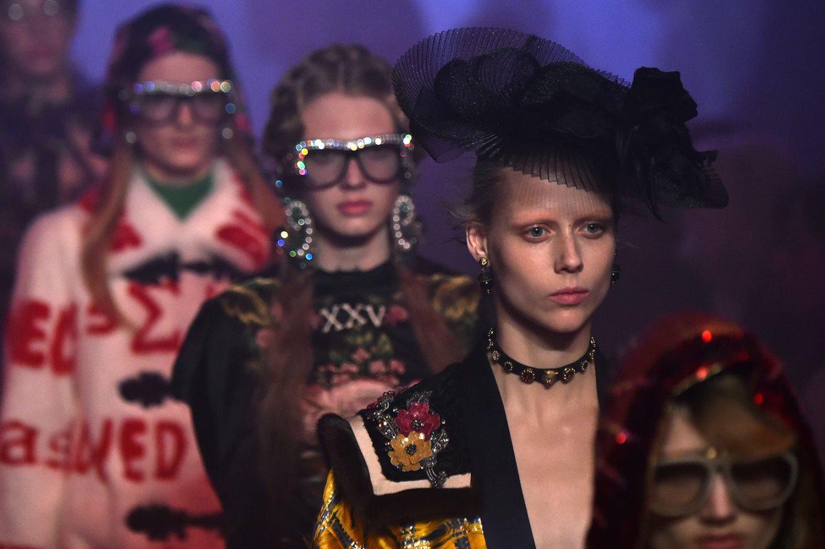 Los sueños ocultos de Gucci abren la Semana de la Moda en Milán