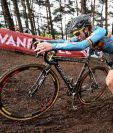 La ciclista belga Femke Van den Driessche estará suspendida seis años. (Foto Prensa Libre: AFP)