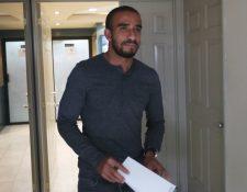 Fredy Thompson había solicitado recientemente audiencia y presentado pruebas de descargo en la Liga Nacional. (Foto Prensa Libre: Edwin Fajardo).