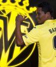 El colombiano Carlos Bacca es el nuevo jugador del Villarreal. (Foto Prensa Libre: Twitter)