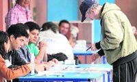 La segunda vuelta de las elecciones se lleva a cabo con poca afluencia de personas que según sondeos estiman que la participación ronda entre el 40 y 50 por ciento de los 7 millones 556 mil 873 habilitados para emitir su sufragio, según los datos del padrón electoral.  Centro de votación CUM.  Foto: Edwin Bercián
