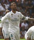 Sergio Ramos y sus compañeros no encontraron el juego que diera el triunfo en el Santiago Bernabéu. (Foto Prensa Libre: EFE)