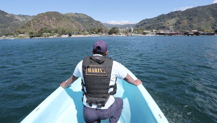 El 14 de noviembre del 2018, ocurrió otro accidente en el Lago de Atitlán. (Foto Prensa Libre: Juan Diego González)