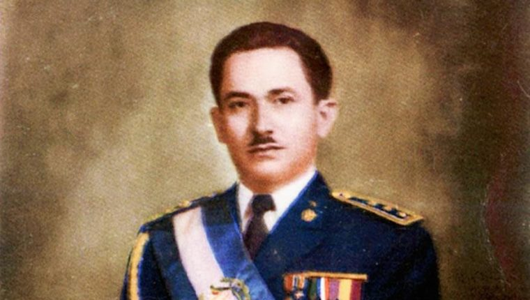 Carlos Castillo Armas, presidente de Guatemala de 1954 a 1957. (Foto: Hemeroteca PL)