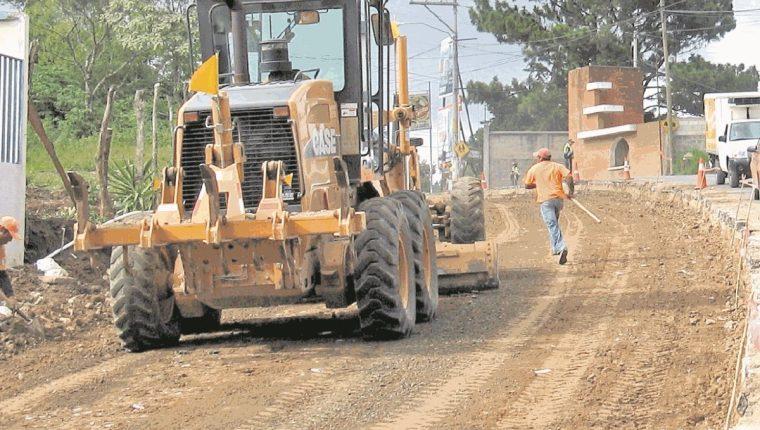 La adjudicación de trabajos en estas semanas para la recuperación vial podrían ayudar a acelerar la ejecución presupuestaria. (Foto Prensa Libre: HemerotecaPL)