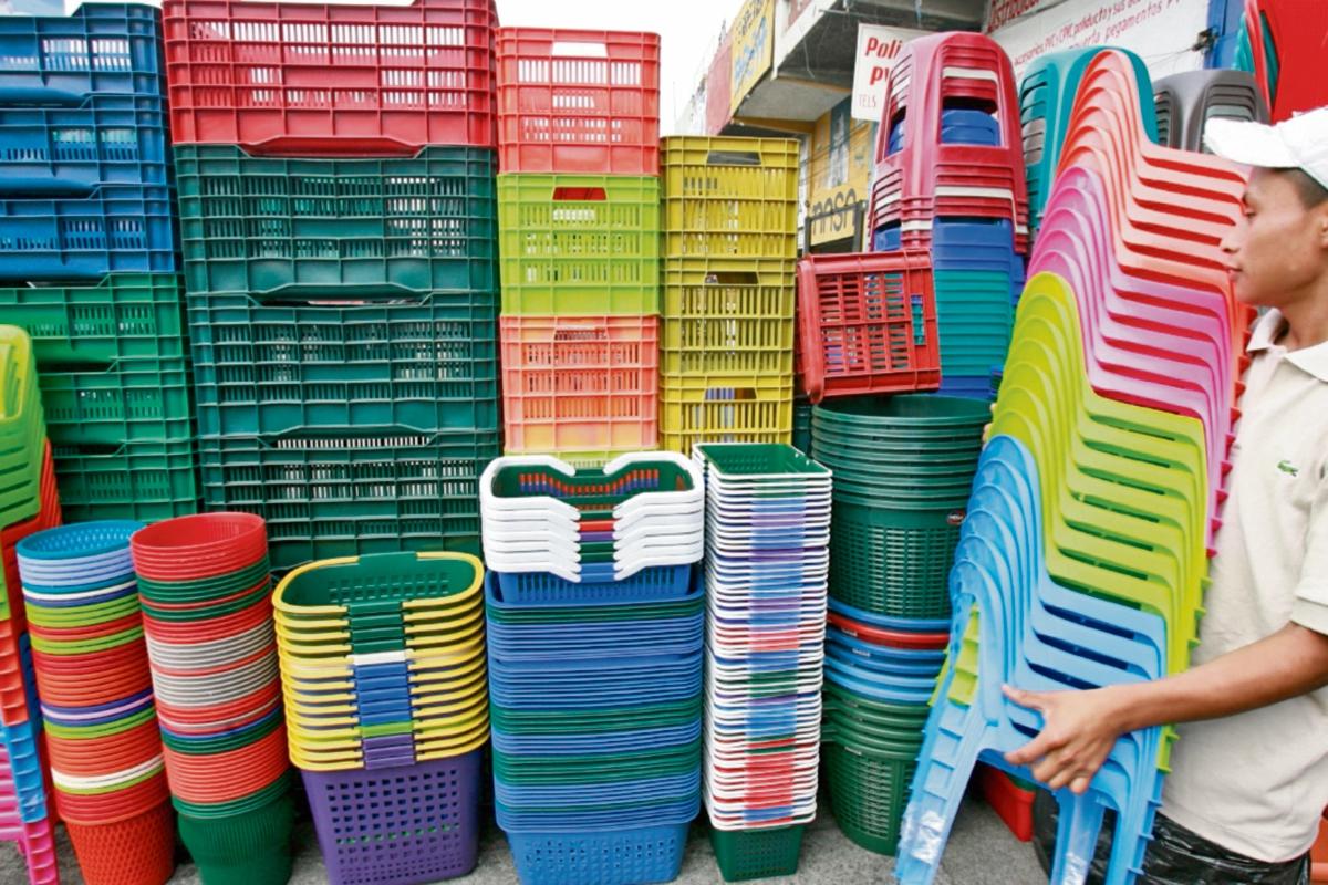 Comercio de resinas baja