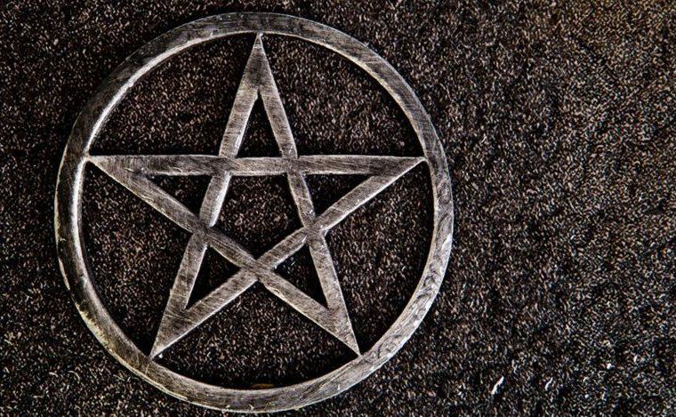 El pentagrama es el símbolo de la Iglesia de Satanás. GETTY IMAGES