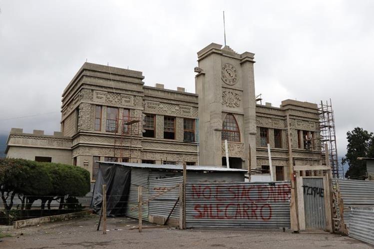 El Palacio Maya de San Marcos está en restauración desde el 2012. (Foto Prensa Libre: Hemeroteca PL)