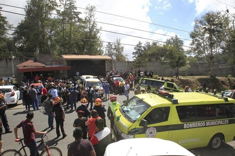 41 menores murieron a causa del incendio en el Hogar Seguro Virgen de la Asunción. (Foto Prensa Libre: Hemeroteca PL)