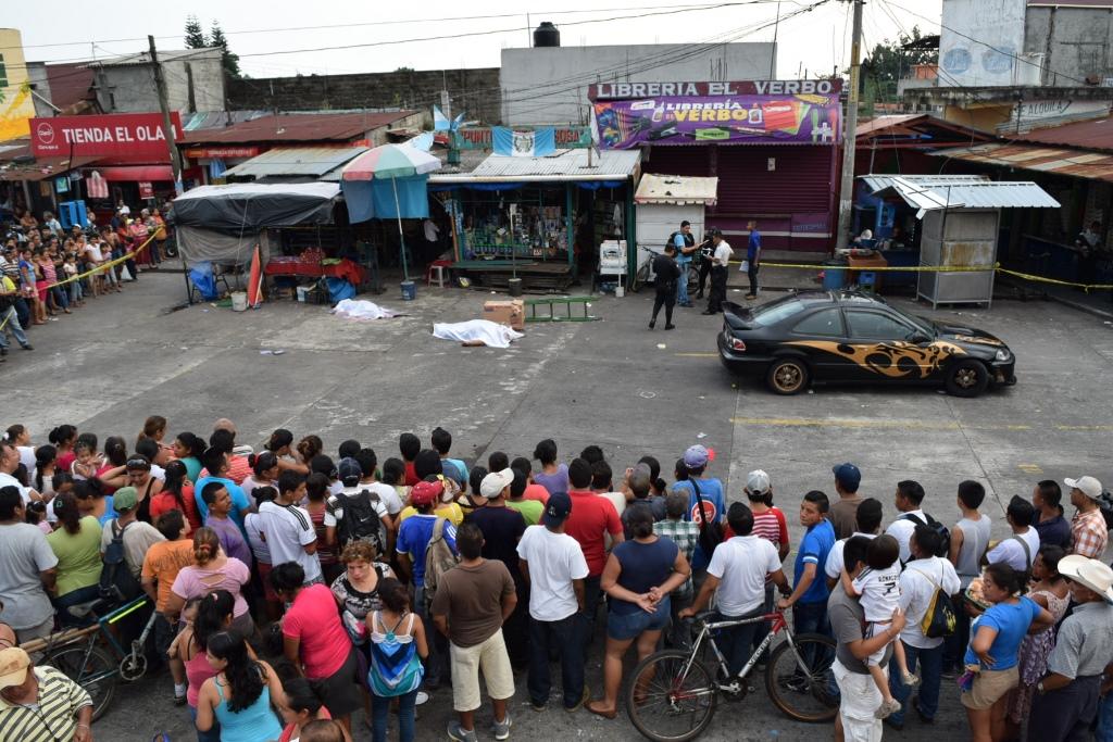 Dos mueren en ataque armado en Santa Lucía Cotzumalguapa