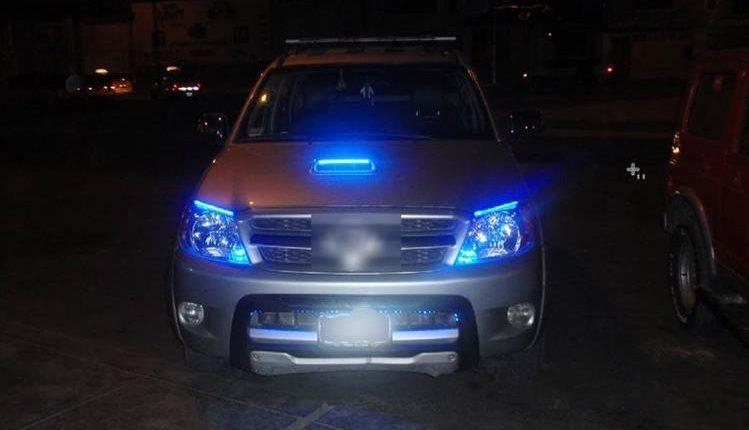 Ley que prohíbe el uso de luces LED en vehículos está a punto de aprobarse en el Congreso. (Foto Prensa Libre: Hemeroteca PL)