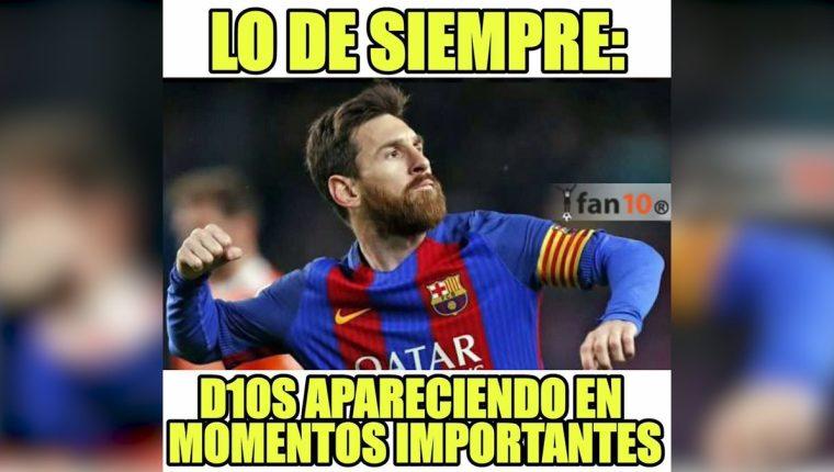 Lionel Messi contribuyó con un gol en la victoria contra el Sevilla. (Foto Prensa Libre: Redes)