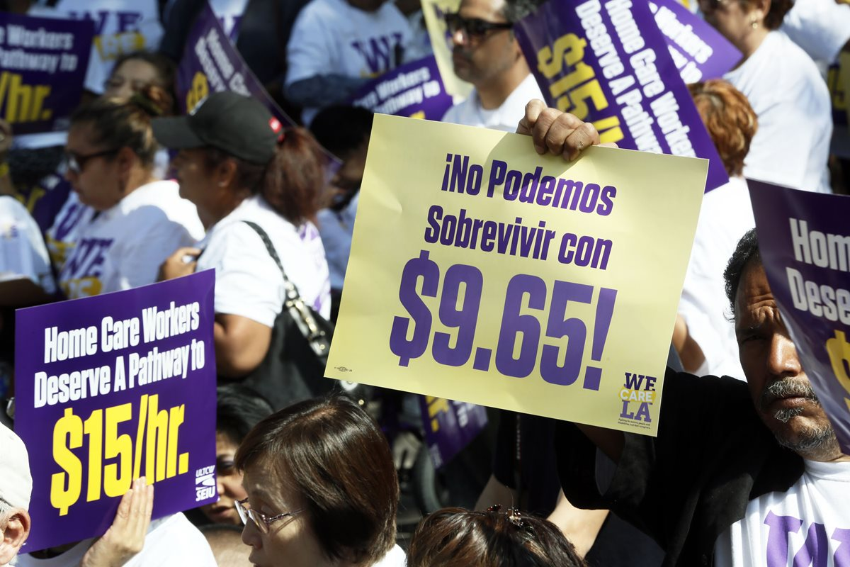 Californiaaumenta salario mínimo a US$15 la hora