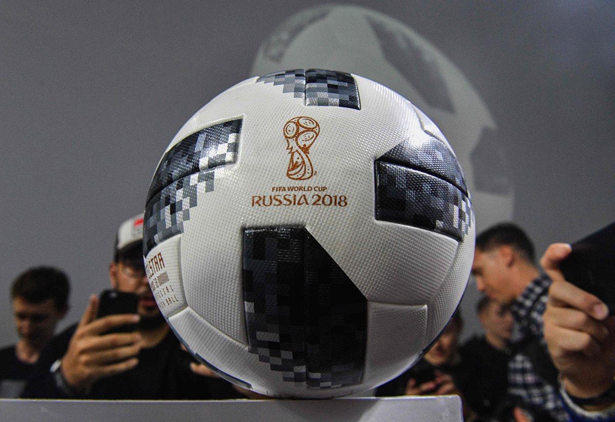 Presentan el balón oficial del Mundial de Rusia 2018: Telstar 18