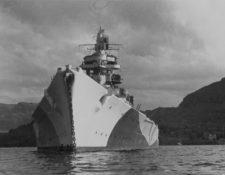 El Tirpitz fue el buque más grande y poderoso de la Kriegsmarine, la marina de guerra de Hitler. BUNDESARCHIVE PHOTOS
