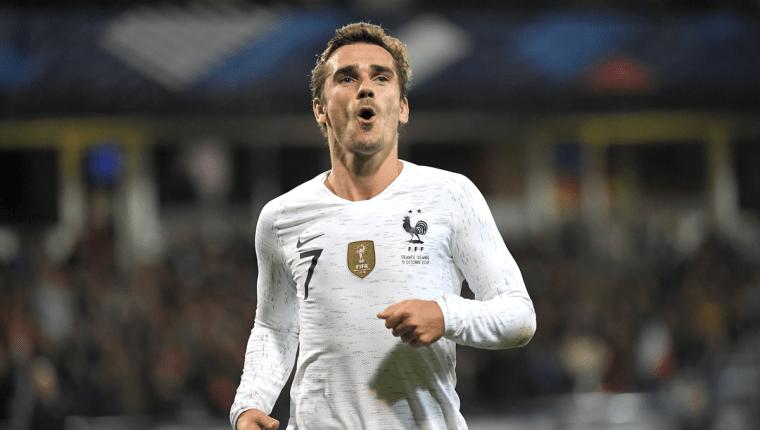 Antoine Griezmann ganó la Copa del Mundo Rusia 2018 con la Selección de Francia. (Foto Prensa Libre: AFP)