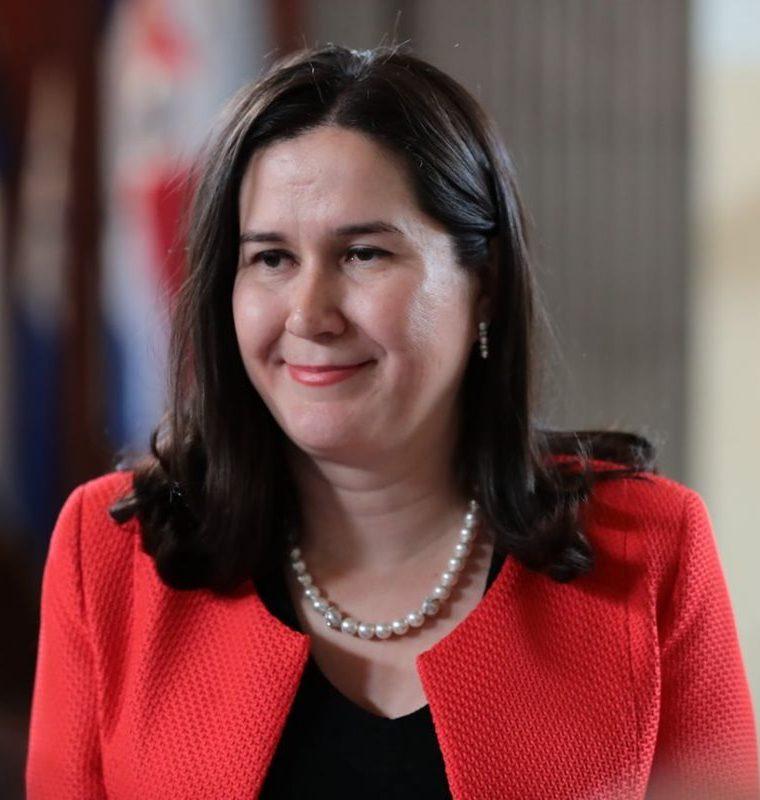 Rita María Elizondo Hernández fue elegida subsecretaria ejecutiva de Conamigua. (Foto Prensa Libre: Álvaro Interiano).