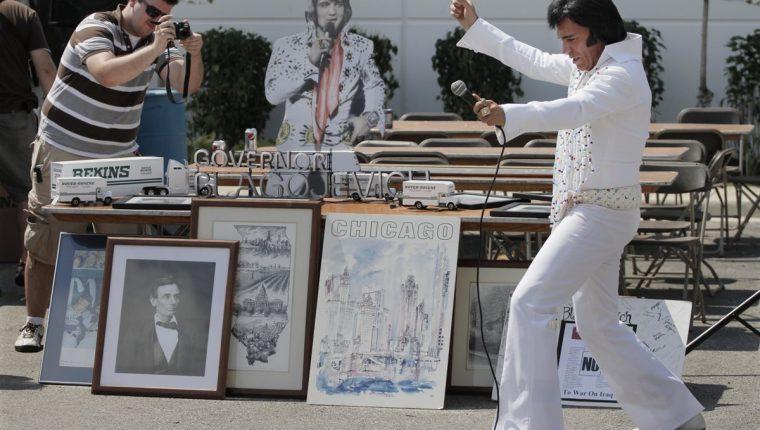 La figura de Elvis Presley es una de más seguidas en el mundo de la música actual. (Foto Prensa Libre: AP)