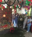 El nacimiento presentado por el servicio de Sala Cuna fue premiado como el ganador. (Foto Prensa Libre: Cortesía)