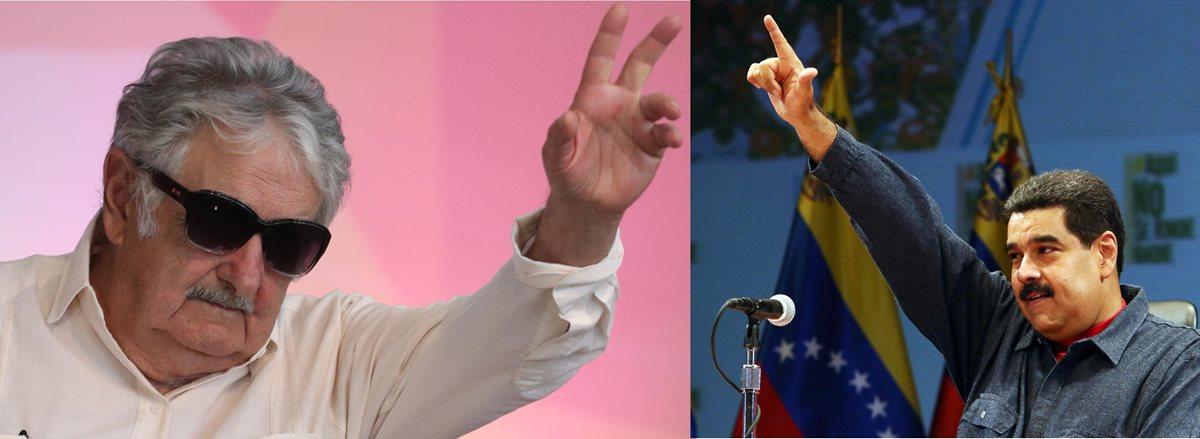 """Maduro responde a Mujica que sí """"está loco"""" pero de """"amor por Venezuela"""""""