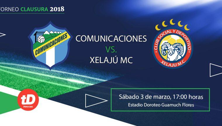 Comunicaciones y Xelajú se ven las caras este sábado en el Doroteo Guamuch Flores. (Foto Prensa Libre: TodoDeportes)