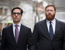Erwin Sperisen (derecha) enfrenta un nuevo juicio en Suiza por la muerte de varios reos en la cárcel Pavón, durante un operativo policial efectuado en el 2015. (Foto HemerotecaPL)