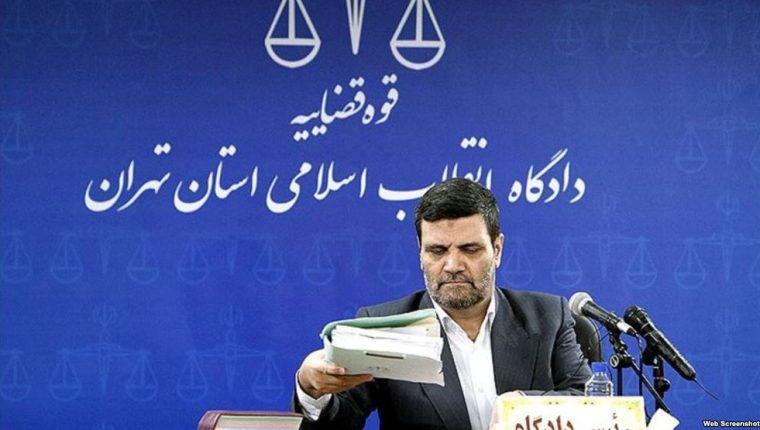 Juez Abolghasem Salavati del Tribunal Revolucionario Islámico en Teherán, Irán.(AFP).