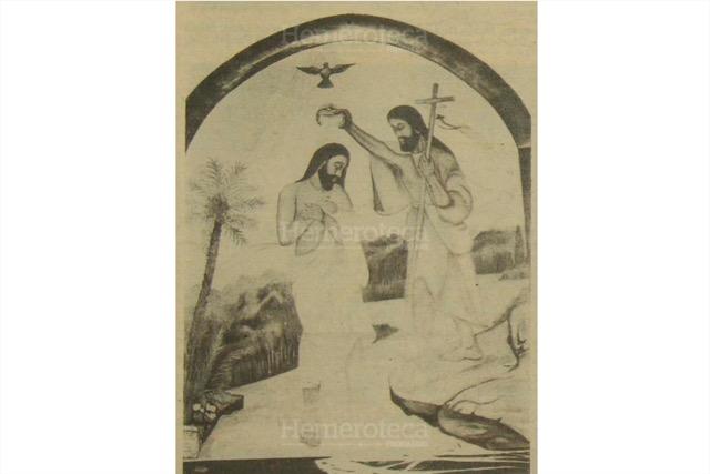 San Juan Bautista y Jesús en el Jordán. (Foto: Hemeroteca PL)