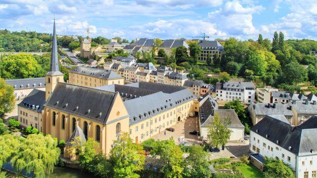 El principado europeo de Luxemburgo ocupa el tercer lugar. GETTY IMAGES